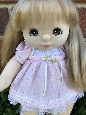 My child Doll Ash Blonde Ultra Long-DOLL ONLY