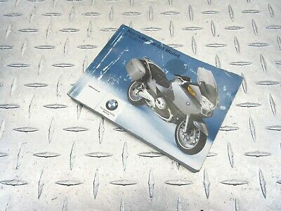 2007 07-09 Bmw R1200Rt R1200Rtp Owner Rider Manual Maintenance Guide Booklet Oem