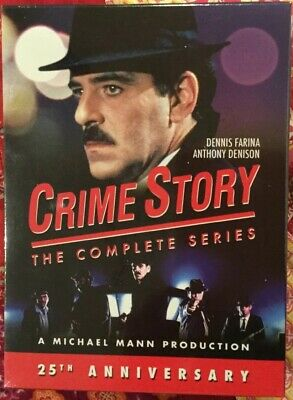 Crime Story Complete Series DVD Season 1990s Dennis Farina Brand New