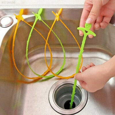 AECC Smiling Face Designed Sink Floor Sewer Cleaning Hooks Device Tools Kits