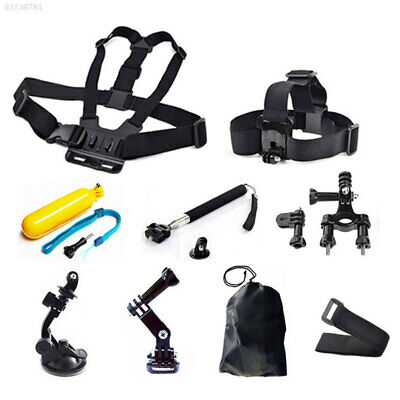 477D 9 In 1 Head Chest Monopod Mount Accessories For GoPro 1 2 3 4 Camera DV