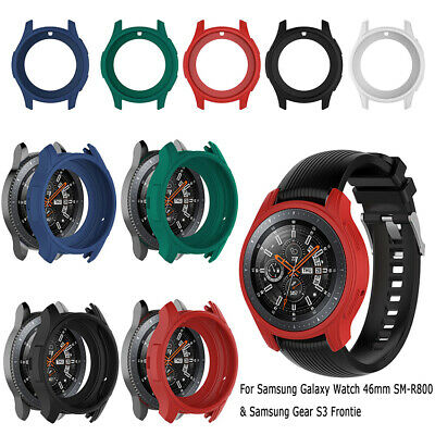 For Samsung Galaxy Watch 46MM R800/Gear S3 Frontier Silicon Protector Case Cover
