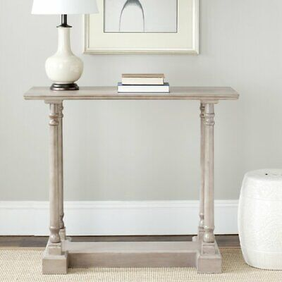 Vintage Console Table Hallway Furniture Shabby Chic Antique Solid Wood Frame New