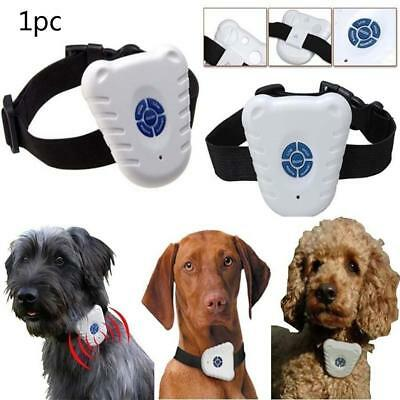 Small Ultrasonic Anti Bark No Barking Pet Dog Training Shock Control Collar US