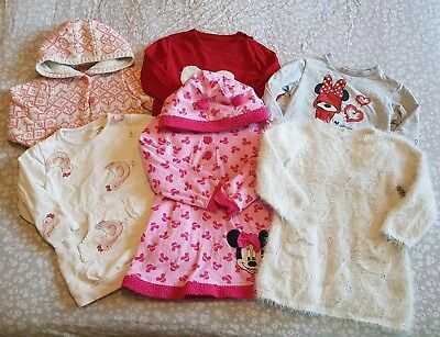 Girls Jumpers And Hoodies Bundle 18-24 Months