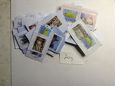 Australia Mixed ,Commemorate Scenes 55 cents bulk kiloware 20g