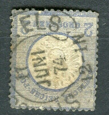 GERMANY; 1872 early classic Shield issue fine used 2g. value, fair Postmark