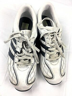 cheaper 0a4f0 1590d David Beckham Adidas Sneakers Mens Size 10 Lace Up White