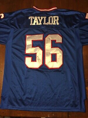 857e0339 Mitchell & Ness New York Giants Lawrence Taylor Throwback Authentics Jersey  56