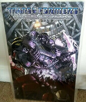 Transformers: Megatron Origin TPB IDW Publishing