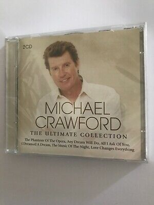 Michael Crawford: The Ultimate Collection - NEW 2x CD Greatest Hits Very Best Of