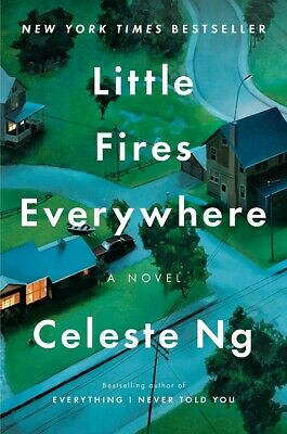 Little Fires Everywhere by Celeste Ng HARDCOVER 2017, Best selling Novel