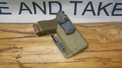 FITS GLOCK 19/23/32 Appendix TLR-7 Kydex IWB Holster *Ready