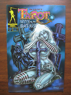 """""""tarot:witch Of The Black Rose""""  No.3, Jul.00, Nm/mt Condition"""