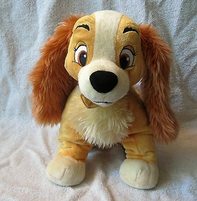 Rare - Disney Store Exclusive - Lady - Lady And The Tramp - Plush Toy