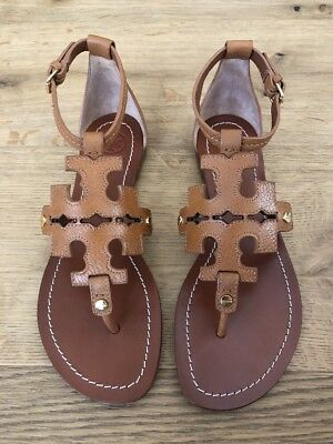 03b2bf8bc TORY BURCH PHOEBE Flat Thong Sandal Snake Embossed-Coconut Brown ...