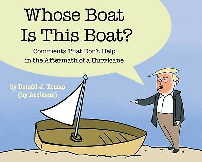 Whose Boat Is This Boat? by Stephen Colbert Hardcover 1982121084 NEW TOP SELLING