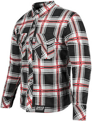 Speed & Strength Rust & Redemption Armored Shirt Lg Red 878988