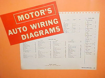 1961 1962 1963 1964 1965 buick special deluxe skylark coupe wiring Buick Engine Diagrams