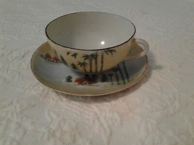 vintage Tea cup and saucer; Japan