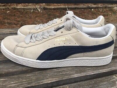 23e1def085b2 PUMA CHALLENGE SUEDE Beautiful Navy Shoes Sneakers - Mens size 8 ...