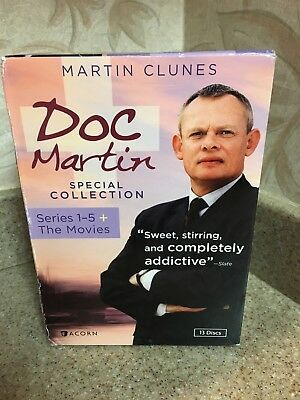 Doc Martin Special Collection DVD Series 1-5 +The TV Movies Box Set of 13 DVDs