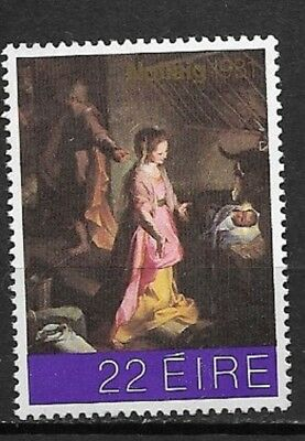 Ireland 1981 Nativity  SC#511  Mint