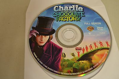 Charlie and the Chocolate Factory (DVD, 2005, Full Frame)Disc Only 49-113