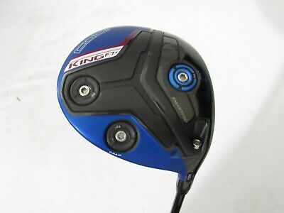 Used RH Cobra King F7+ Adjustable Driver Fujikura Pro Graphite Stiff S Flex