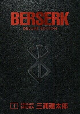 Berserk Deluxe Volume 1 Hardcover by Kentaro Miura,Jason DeAnge