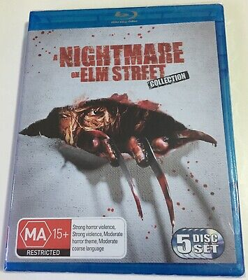 A Nightmare On Elm Street Collection- Blu-ray - 5 Disc Set - Brand New Sealed!!!