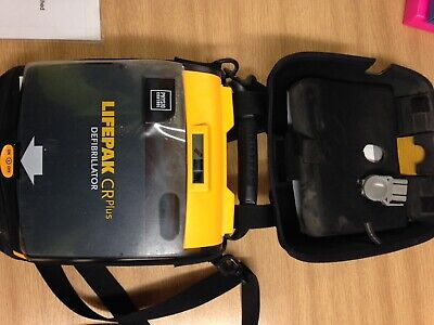 Lifepak Cr Plus Physio-control AED Never Used With Pads And Carry Case