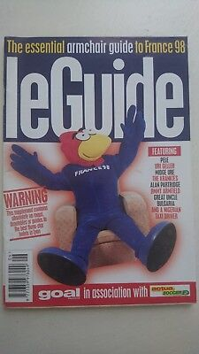 World Cup France 98 'Le Guide' Essential Armchair Guide To France 98