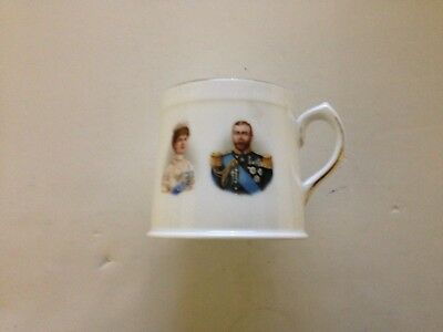 Small Royal Doulton Bone China 1911 King George V Coronation Mug