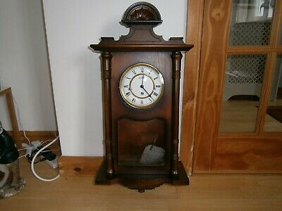 Westminster Chime Wall Clock For Spares Or Repair