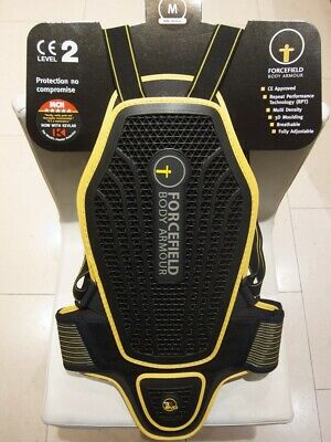 Forcefield Pro L2K Evo Dynamic Motorcycle Back Protector Medium