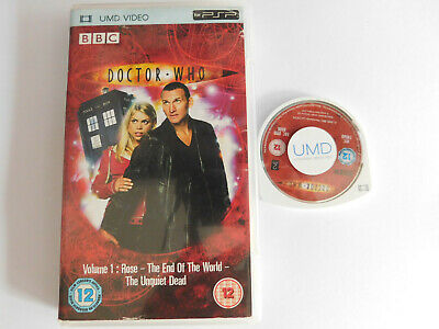 * PSP UMD * DOCTOR WHO VOL 1. x4 EPISODES * BBC TV * VG * RARE * BILLIE PIPER *