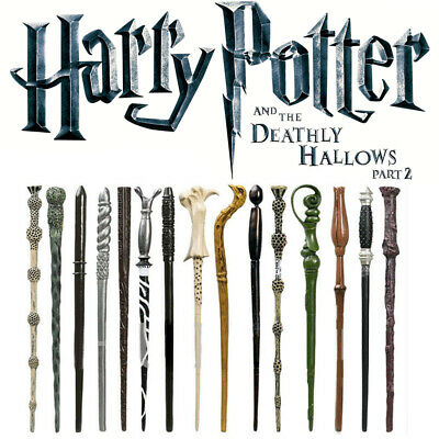 Harry Potter Magic Wand Stick Hermione Dumbledore Black Boxed Cosplay Xmas Gifts