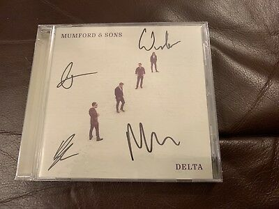 Mumford and Sons - Delta Signed CD (Autographed) - New