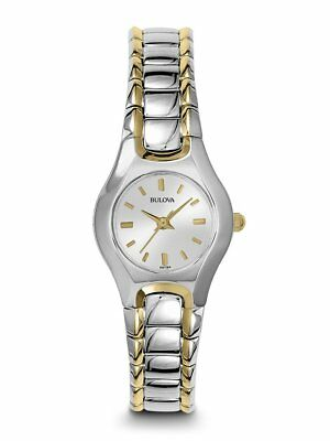 *BRAND NEW* Bulova Women's Two Tone Stainless Steel Mother of Pearl Watch 98V02
