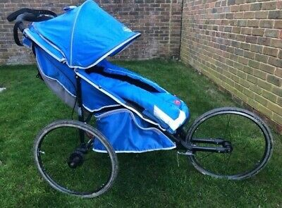 Baby Jogger Performance 25th Anniversary Running Buggy Blue Vgood Used Condition