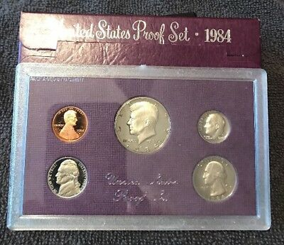 1984-S U.S.Proof set. Genuine - Complete and original as issued by The US Mint.