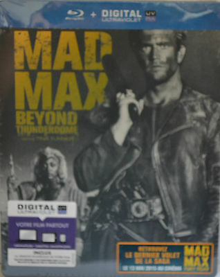 """MAD MAX 3   """" Beyond thunderdome """" STEELBOOK  BLU RAY   NEUF SOUS BLISTER"""