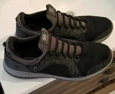 5f1eee092a4 Skechers Black Men's Relaxed Fit-Delson-Brewton Sneaker 14 M (Worn Once)