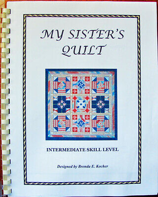 Brenda Kocher My Sister's Quilt Counted Needlepoint Chart/Pattern