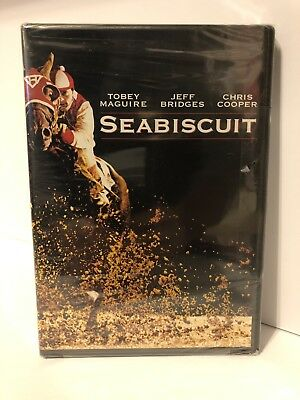 Seabiscuit DVD FULL SCREEN Tobey Maguire Brand New Sealed