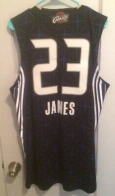 best website 1f1d0 b6c0a LEBRON JAMES 2010 NBA All Star Game Jersey Adidas Sewn Rare Cavs Lakers  King #23