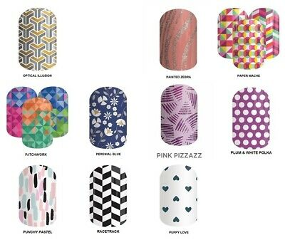 JAMBERRY NAIL WRAPS - FULL SHEETS TO CHOOSE FROM, includes extras, BRAND NEW
