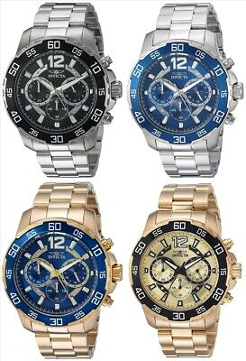 Invicta Men's 2271 Pro Diver Chronograph 45mm - Choice of Color