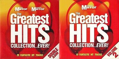 Greatest Hits Collection - 2 Discs - Various Artists - Mirror Promo Music Cd